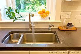 Budget Friendly Kitchen Remodel Sink Compressor Thrifty Frugal Mom