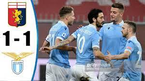 Genoa vs Lazio 1-1 All Goals & Highlights 03/01/2021 HD - YouTube