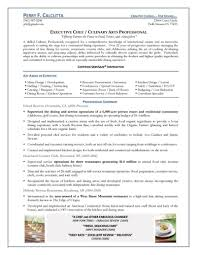 Chef Resume Objective Statement Equipped Photo Executive 1
