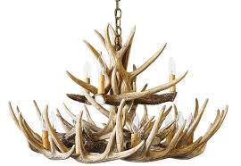 whitetail 15 cast cascade antler chandelier