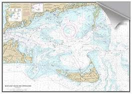 Amazon Com Nantucket Sound Decorative Nautical Chart