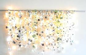 string light diy ideas cool home.  Cool Diy Lights For Bedroom String Light Ideas Cool Home Decor Sparkle  Mirror Garlands Are Fun  With String Light Diy Ideas Cool Home