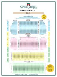 The Classic Center Seating Chart 13 Inquisitive Classic Center Athens Seating Chart