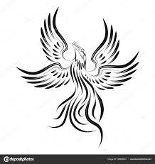 Phoenix Stock Vektor Balashovmihail38gmailcom 190929004