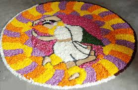 dancing with flower pattern rangoli design 50 best and simple rangoli design special for diwali wallpapers hd