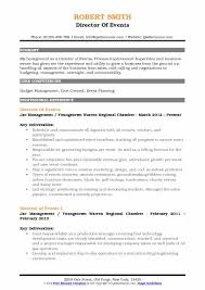 Event Manager Resume Samples Director Of Events Resume Samples Qwikresume