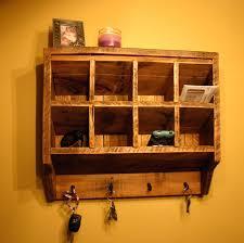 coat rack mail organizer key holder wall hooks by racks