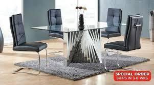 sophia 90cm round dining table 4 chairs grey hygena lyssa ext milo tables storage furniture enchanting