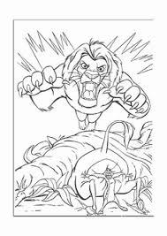 Personaggi Da Colorare 96 Fantastiche Immagini Su Il Re Leone