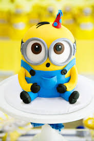Modern Bright One In A Minion Themed Birthday Party Hostess