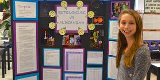 going the distance starlight science ashleigh her 6th grade science fair project display board