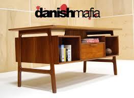 mid century modern desk us dutch mid century modern teak