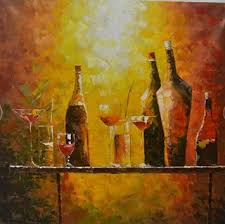 buy fanya modern bar decoration canvas oil painting wine bottle without frame oil painting on canvas wall art for wall decorations home decor in cheap  on wine bar wall art with buy fanya modern bar decoration canvas oil painting wine bottle