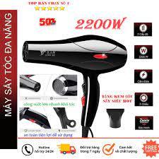 Máy sấy tóc Deliya công suất 2200W có 3 chiều nóng, vừa, mát thỏa sức lựa  chọn, không lo tóc hư tổn,ion-máy sấy tóc tạo kiểu,sấy tóc công suất lớn  mini,TẶNG KÈM