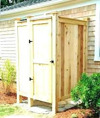 pvc outdoor shower outdoor shower enclosure kit r vintage plumbing designs ideas and outdoor shower pvc