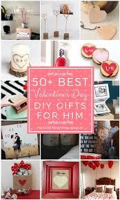 50 best valentine s day diy gifts for him