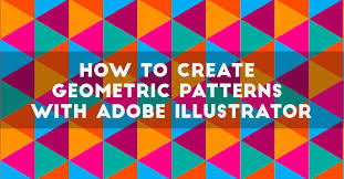 How To Make Pattern In Illustrator Gorgeous How To Create Geometric Patterns With Adobe Illustrator DesignContest