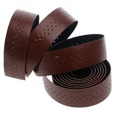brown synthetic leather road bike handlebar tape bicycle bar tapes grip pu bartape