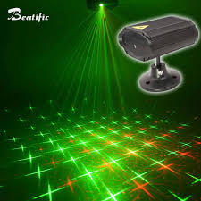 Mini Disco Laser Light Music Color Projector Party Lights