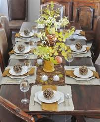 thanksgiving table ideas. Natural-thanksgiving-table-settings - Home Decorating Trends Homedit Thanksgiving Table Ideas A