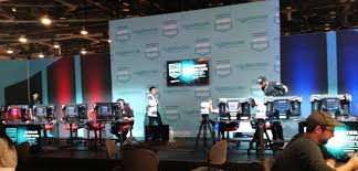 north hall is generally full of booths to radio transmission and station management this year nab introduced the first dedicated esports pavilion