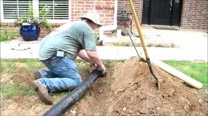 underground gutter drainage. How To Install Underground Downspouts With Pop-up Drains Gutter Drainage