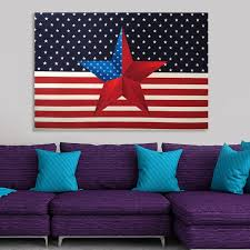 inspirational american flag wall hanging modern home independence day america star tapestry throw blanket cotton decor
