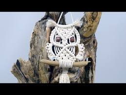 macrame owl wall hanging tutorial for