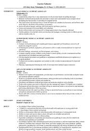 Medical Support Assistant Resume Examples Medical Support Assistant Resume Samples Velvet Jobs 3