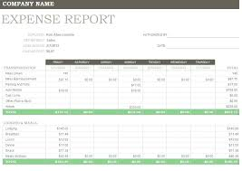 Blank Expense Report Form Free Expense Report Template Form Forms Templates
