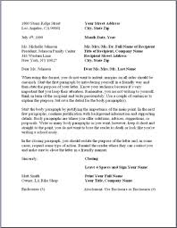 Sample Business Letter Format Example Businessprocess Pinterest