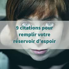 9 Citations Pour Remplir Votre Réservoir Despoir