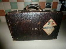 Antique <b>Leather Suitcases</b> products for sale | eBay