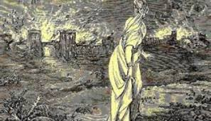 Image result for how Sodom and Gomorrah were destroyed