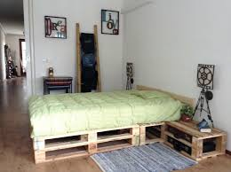 pallet bedroom furniture. Diy Pallet Bed With Lights Bedroom Furniture Ideas Handmade For Sale Store Base