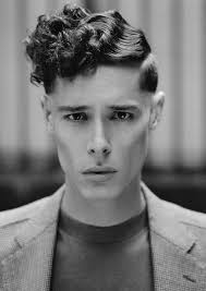 Hairstyles For Men With Curly Hair 70 Wonderful Criminal Paths Collection A Twist On Barbered Looks From The 24s