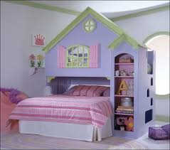 House Bunk Bed Fancy House Loft Bunk Bed Idea For Young Girls Inspired From