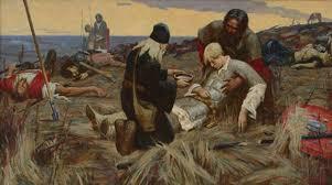 Куликовская битва  не запросил Поэтому Тохтамыш в 1382 году совершил поход на Москву после длительной осады взял её обманным путём и сжёг дотла