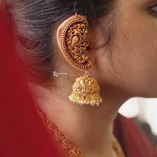 Gold Jhumka Designs For Bridal Shop The Prettiest Bridal Jhumkas Online Now Gold Jhumka