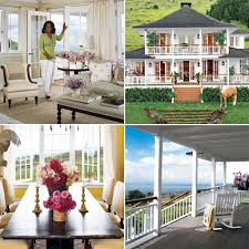 Houses Inside Oprah Winfreys Houses In Montecito And Maui Popsugar Home