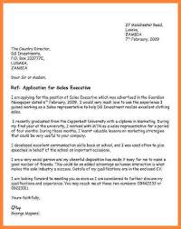Writing a cover letter job application