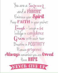 Breast Cancer Survivor Quotes Simple Pin By Breast Cancer Wisdom On Daily Breast Cancer Inspiration