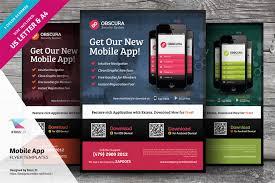 Design Flyer App Mobile App Flyer Templates