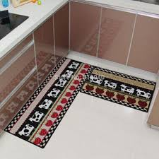 kitchen slice rugs modern and simple
