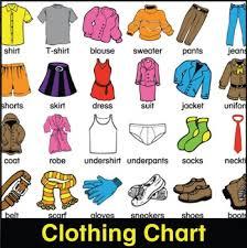 Clothing Chart