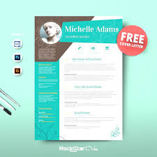 Creative Resume Unique Free Creative Resume Templates Ai Colourful Cv Templates Free 12