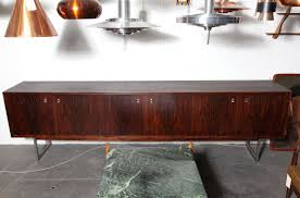 ... Extra Long Sideboard Extra Long Credenza Extra Long Rosewood Sideboard  With Chrome Legs And