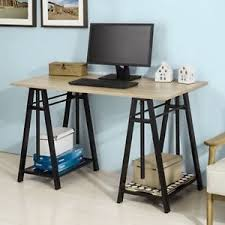 industrial home office desk. Image Is Loading Industrial-Home-Office-Desk-Wood-Metal-Storage-Console- Industrial Home Office Desk D
