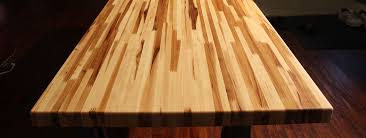 custom cut butcher block countertop butcher block island top solid wood table top red oak table top
