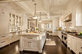 luxury kitchen furniture. The White Furniture And Light Blue Color Of Walls Brightens Up Kitchen, Breathing More Life Into Space. Also Creates Great Luxury Kitchen F